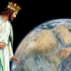 Christ-The-King-looking-at-earth