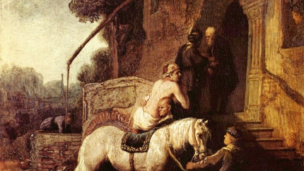 The Good Samaritan - Rembrand