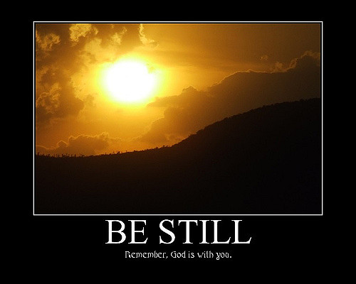 be still image