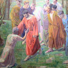 Jesus Heals A Leper