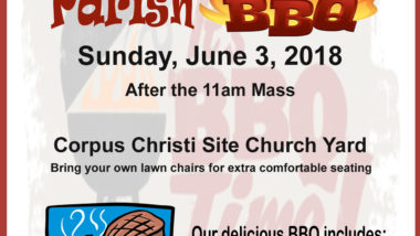 2018 St. Catherine of Siena Church BBQ