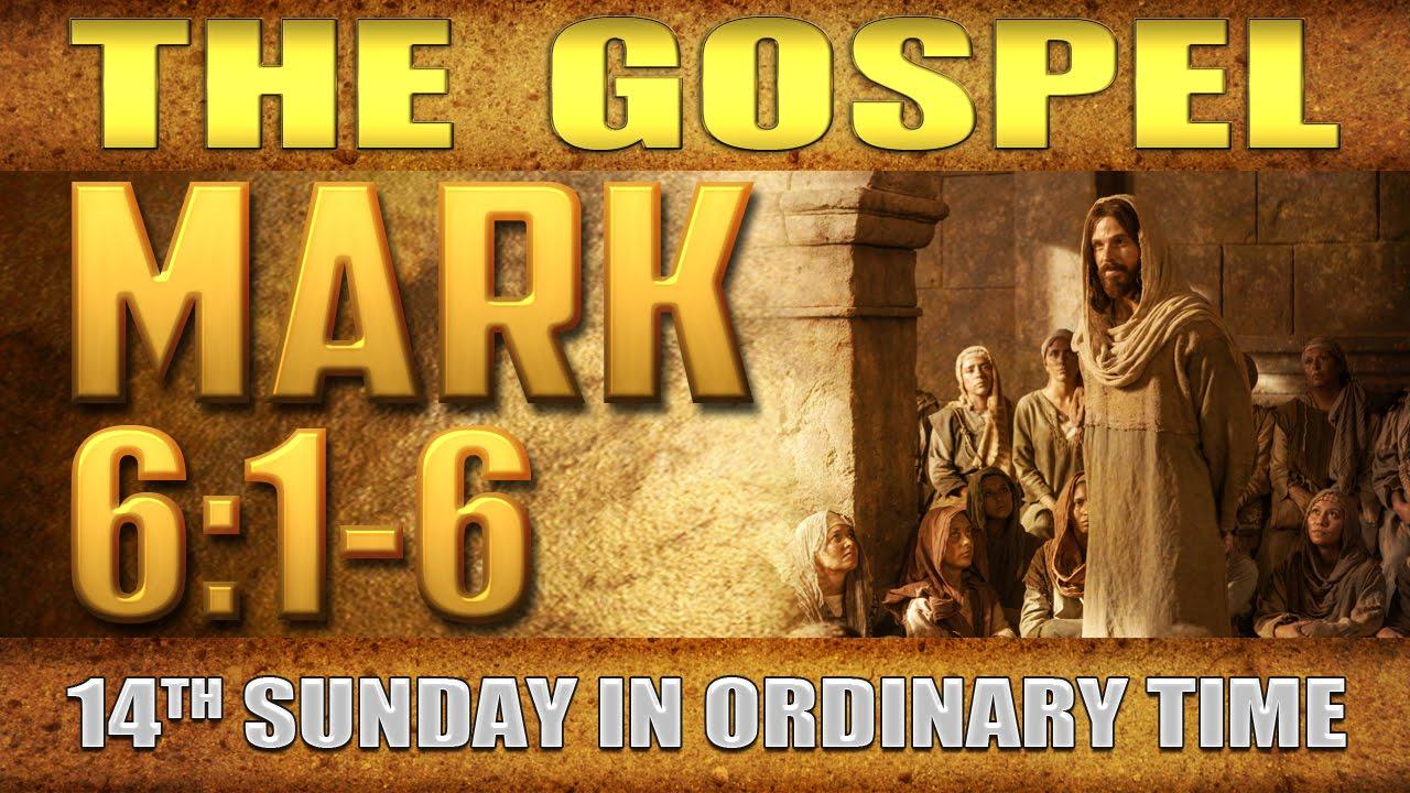 Gospel-Mark-6-1-6