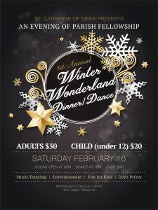 Winter Wonderland Dinner & Dance at Michelangelo – Feb. 16, 2019