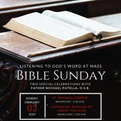 Bible Sunday Flyer 2019