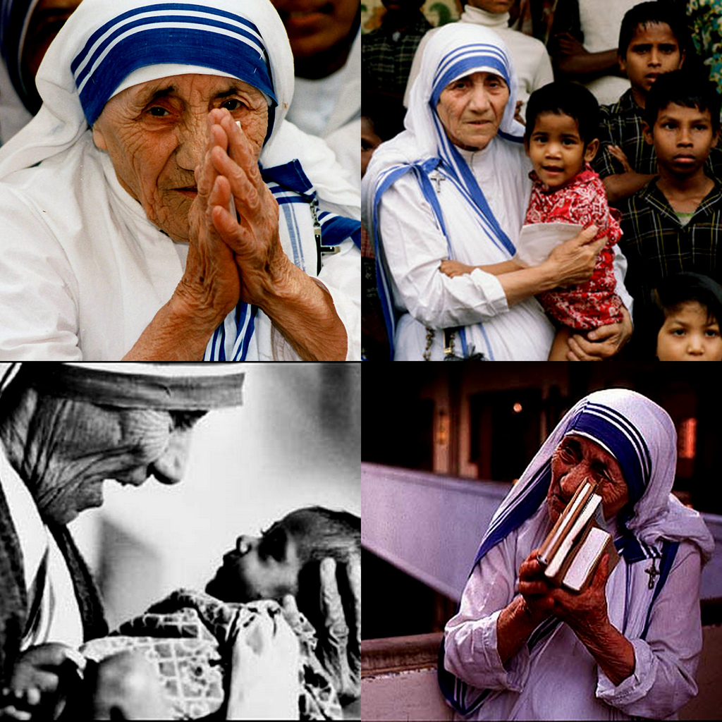 Humble Mother Teresa