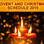 Advent And Christmas Schedule 2019