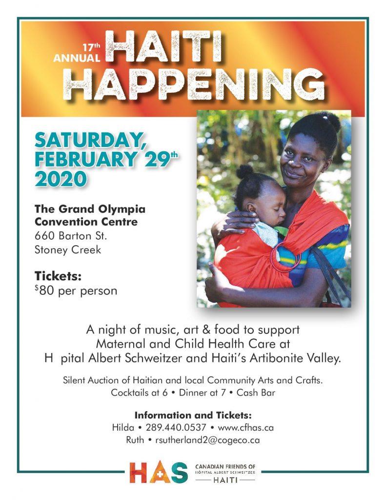 2020 HAITI HAPPENING