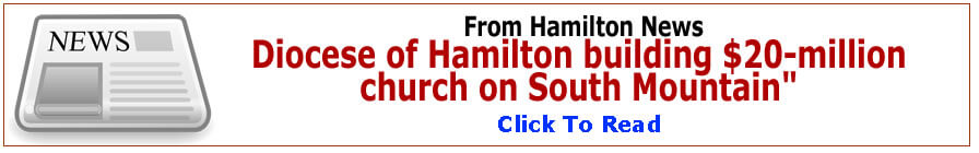 news about new church building