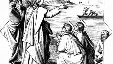 Jesus with Apostles